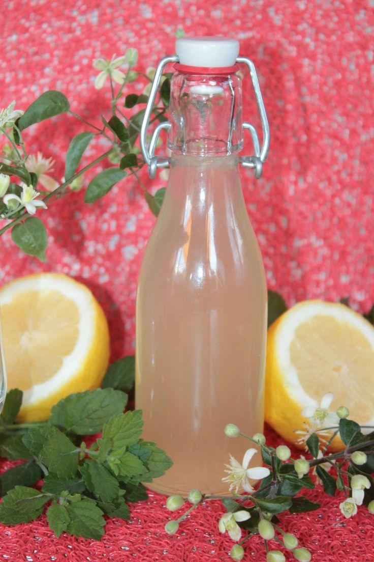 Sirop Maison : Mélisse-Citron