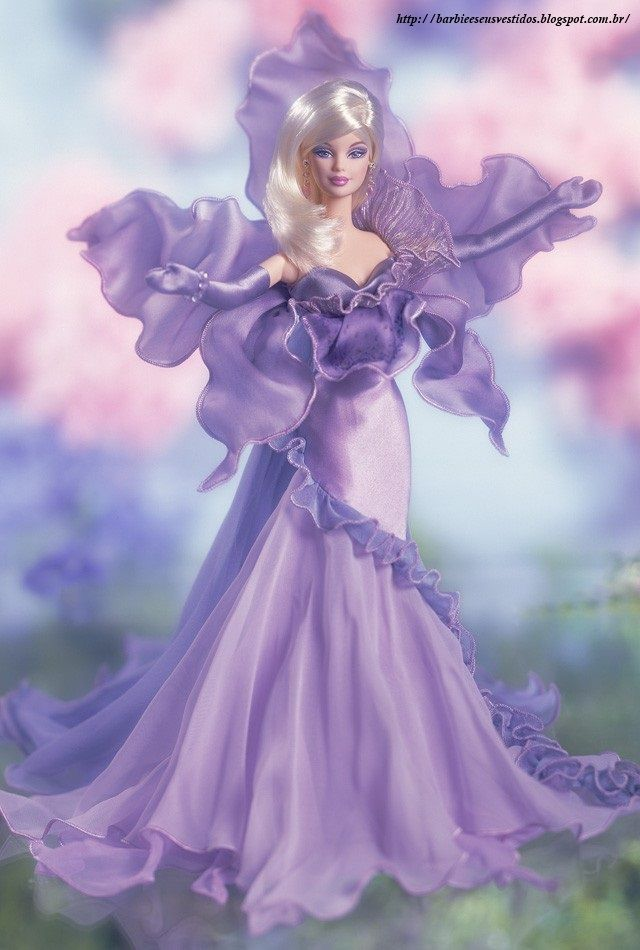 Barbie E Seus Vestidos: 2001 - The Orchid™ Barbie® Doll