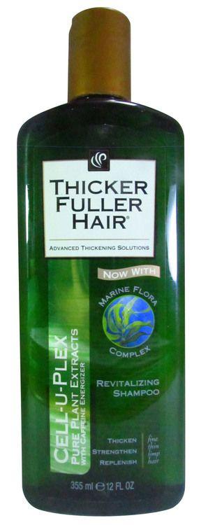 Schwarzkopf Thicker Fuller Hair Revitalizing Shampoo 355 ML