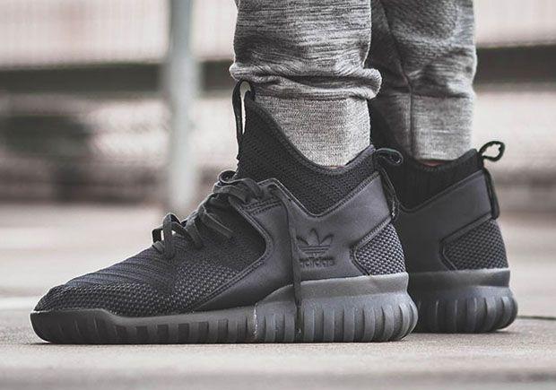 #sneakers #news  The adidas Tubular X Primeknit Goes Triple-Black