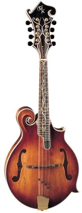 Michael Kelly F-Style Legacy Dragonfly Flame Spruce Top Mandolin - Antique Violin Satin Finish (MKLDFAVS)