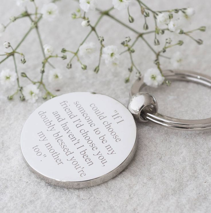 You're My Mother Too Keyring from notonthehighstreet.com