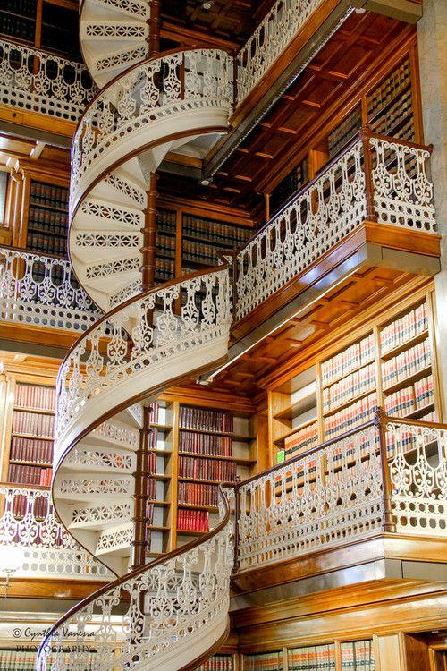 bluepueblo:  Law Library, Des Moines, Iowa photo via besttravelphotos
