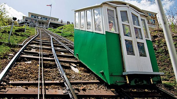 A visit to Dubuque would not be complete without a trip on what is reputedly the steepest and shortest scenic railway in the world.  The Fenelon Place Elevator is listed in Iowa's National Register of Historic Places. Located at 512 Fenelon Place, D...