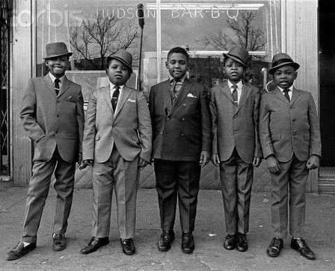 Nicky Barnes and his crew