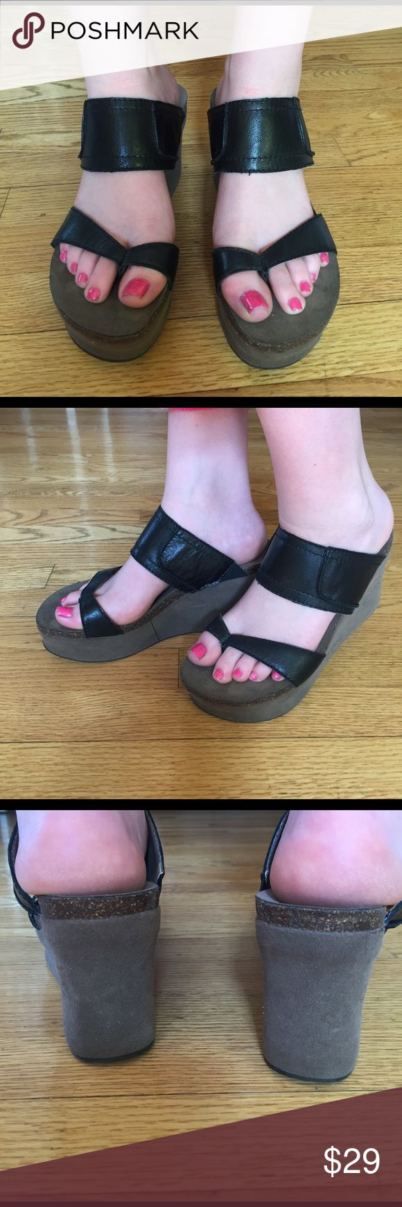 Super cute OTB sandals Hardly ever worn super versatile sandals: wear with jeans, a dress or shorts. You will love these! Shoes Sandals