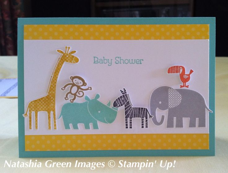Zoo Babies Stampin' Up!