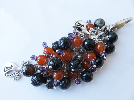 Check out this item in my Etsy shop https://www.etsy.com/uk/listing/484241099/halloween-bag-charm-black-and-orange-cat