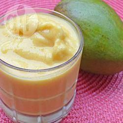 Low Fat Cardamom-Mango Lassi @ allrecipes.com.au