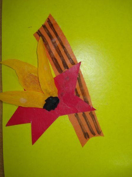 Художественно-творческая деятельность детей второй младшей группы— аппликация «Вечная память героям» - Для воспитателей детских садов - Маам.ру