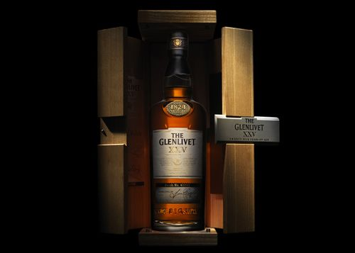 Glenlivet Whiskey Packaging. Nice Finish