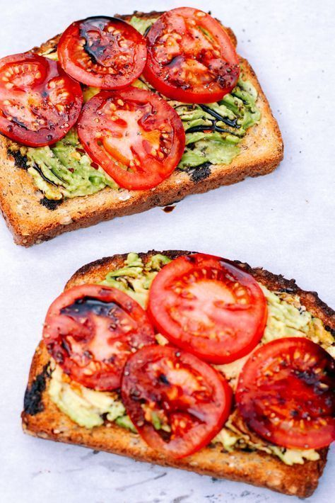 Tomato avocado toast with balsamic syrup – #Balsamico syrup #with #tomatoesAvocado … – #Balsamico syrup #with