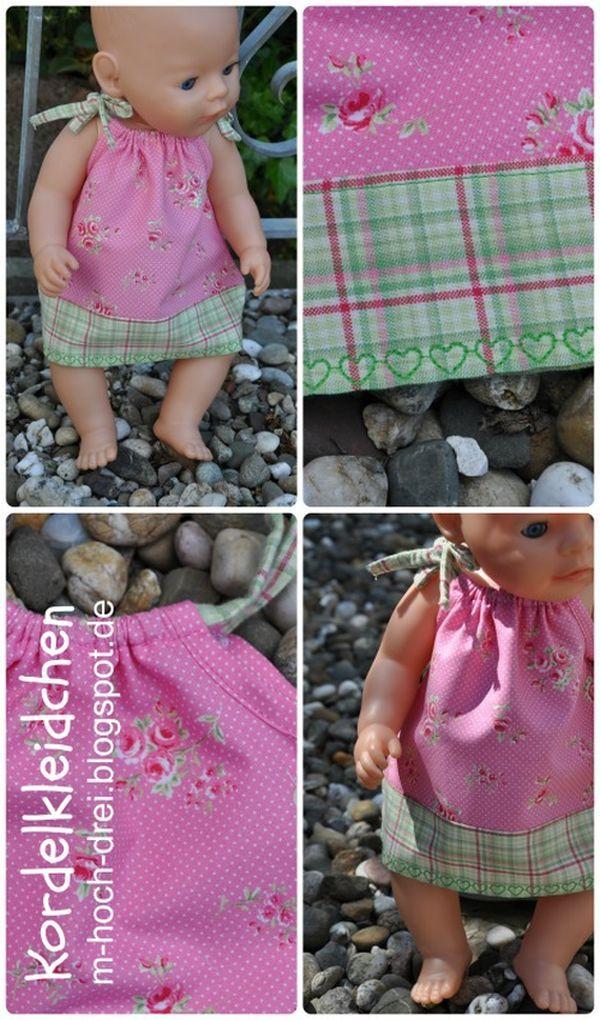 Marion lässt heute die Herzen der Puppenmamams höher schlagen. Die kreative Bloggerin hat nämlich gleich eine ganze Puppenkollektion entworfen!