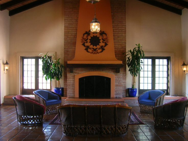 1000 images about fireplace ideas on pinterest for Spanish style fireplace