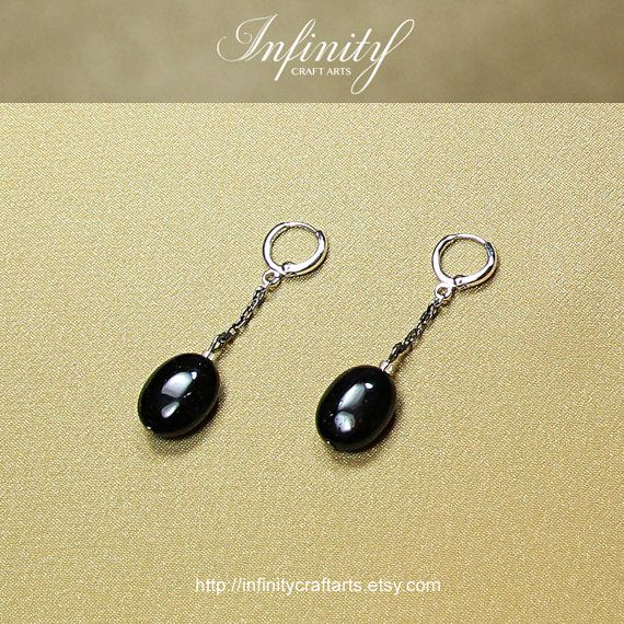 #Gemstone #Black #Tourmaline #earrings #White #Gold by #InfinityCraftArts https://www.etsy.com/ca/listing/239716156/gemstone-black-tourmaline-earrings-white?ref=shop_home_active_3