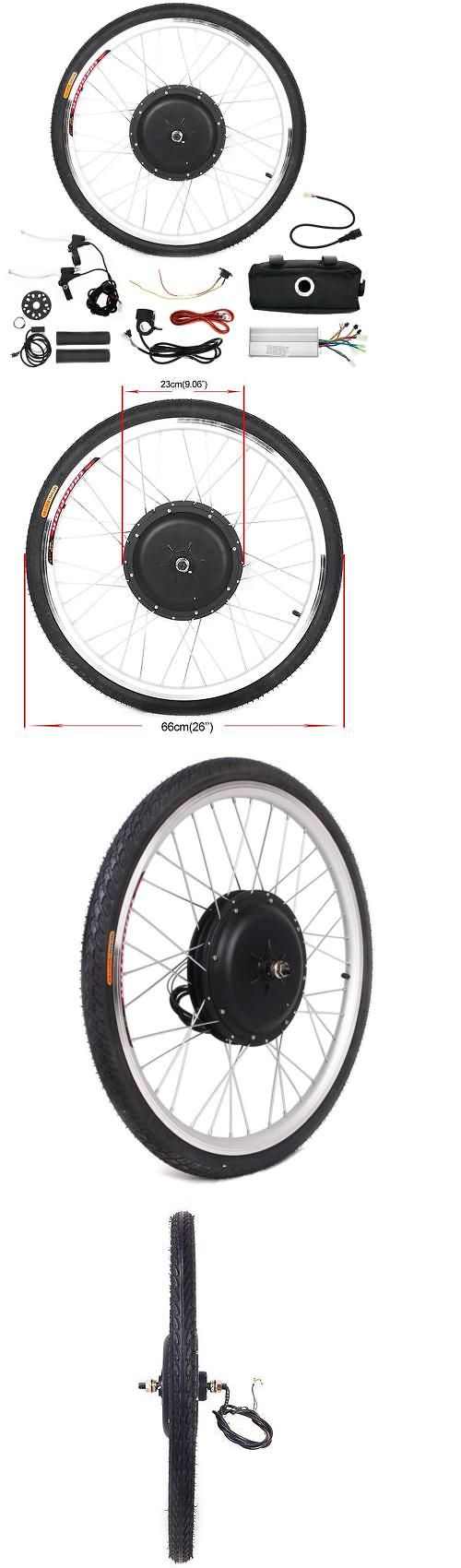 Electric Bicycles 74469: 48V Front Wheel Diy Electric Bicycle Motor Conversion Kit 1000W Ebike Cycling Us -> BUY IT NOW ONLY: $147.97 on eBay!
