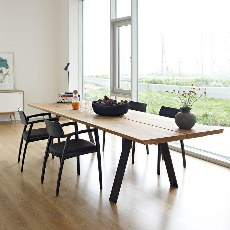 Svenssons i Lammhult - Möbler - Matbord / GM 3200 plankbord / 240 cm, vildek olja