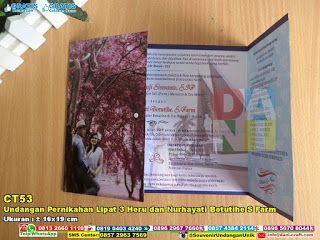 Undangan Pernikahan Lipat 3 Heru Dan Nurhayati Botutihe S Farm Wa/ sms /Telp 0852.2602.1075 #Undangan #UndanganPernikahan #UndanganLipatTiga #UndanganRomance #UndanganUnik #UndanganCantik #UndanganKeren #UndanganLatarBelakangFoto #UndanganPernikahan #DistributorPernikahan #souvenirMurah