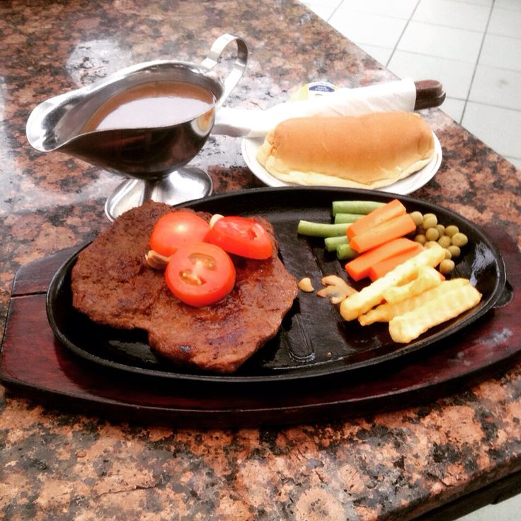 Tendroloin steak @Bondy Restaurant & Ice Cream Balikpapan - East Kalimantan Indonesia