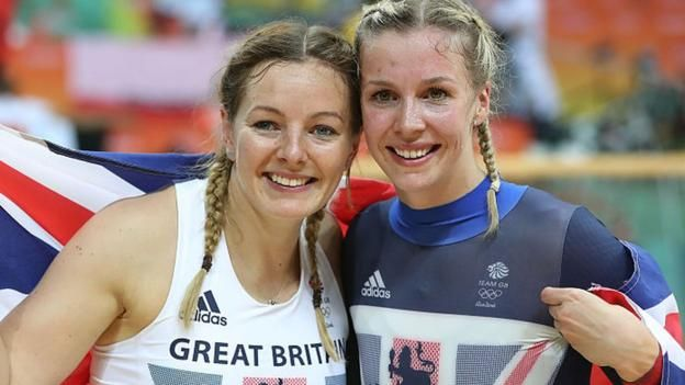 In the individual sprint competition Becky James and Katy Marchant took silver and bronze respectively. Kristina Vogel of Germany took gold. 16th August 2016
