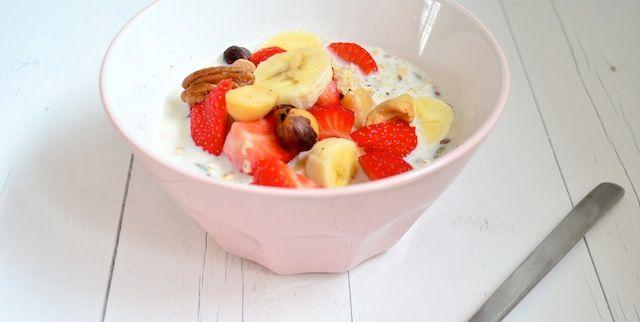 Overnight Oats - Gezond ontbijt - Uit Paulines Keuken