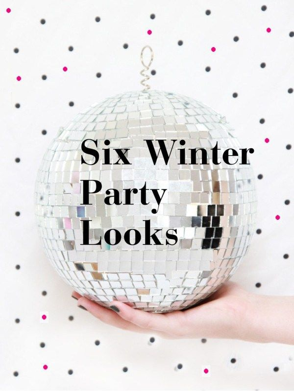 Six Winter Party Looks – Sustainable Outfits