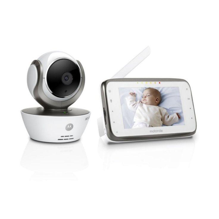 De Motorola MBP-854 Babyfoon is een erg handige babyfoon met camera. Het display heeft een HD weergave en de camera is eenvoudig met behulp van de ouderunit op afstand te draaien en te zoomen.