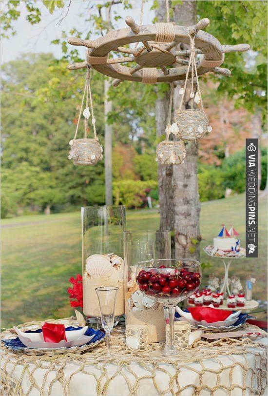 nautical wedding ideas | VIA #WEDDINGPINS.NET