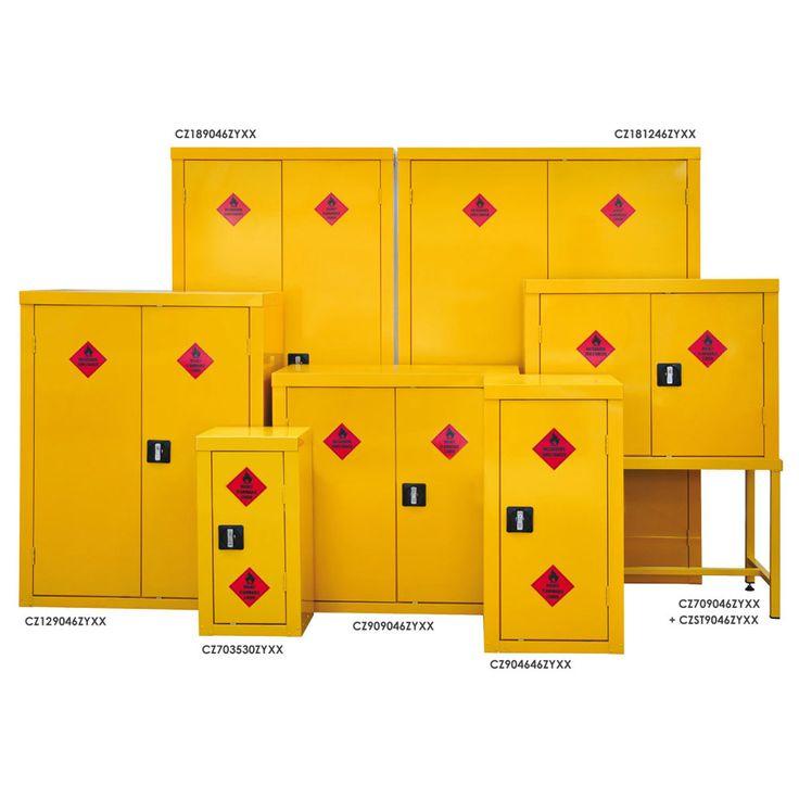Hazardous Materials Storage Cupboards