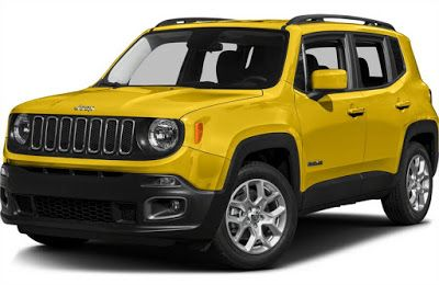 The Jeep's Renegade Comes in 4 Trims for 2016