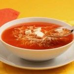 Sopa de fideos, receta clásica