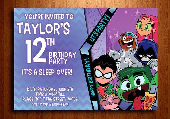 316 Best Teen Titans Party Images On Pinterest  Birthdays -7940