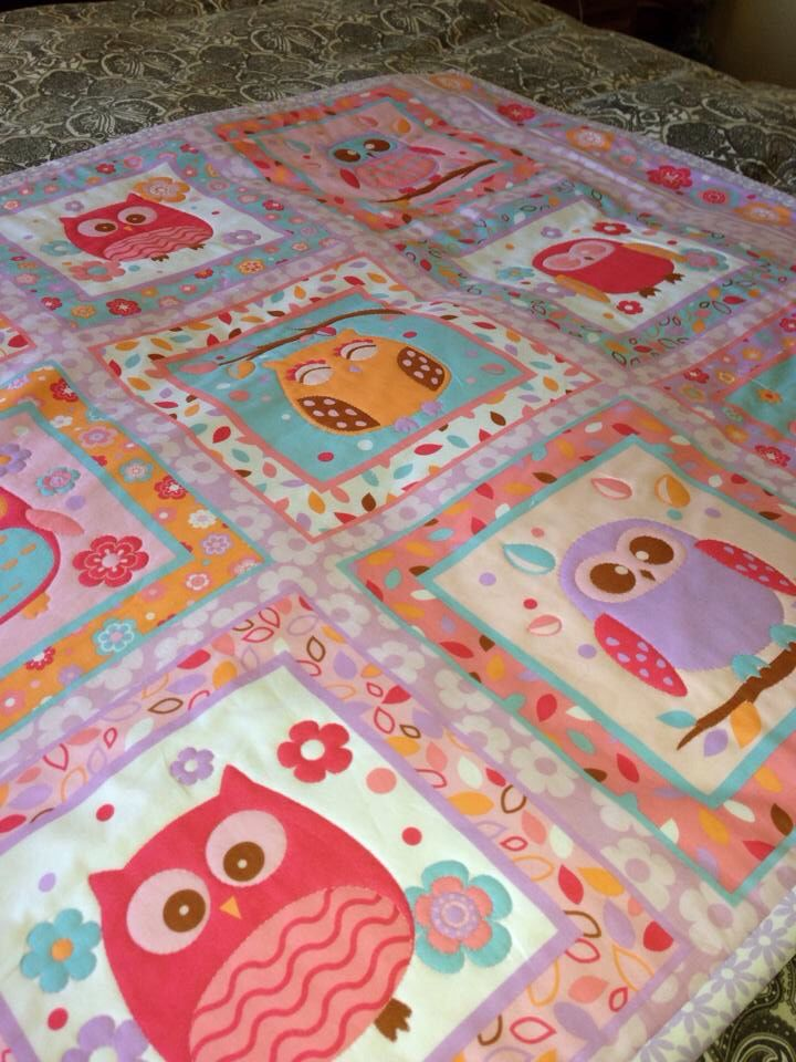 Phillipa's birth quilt