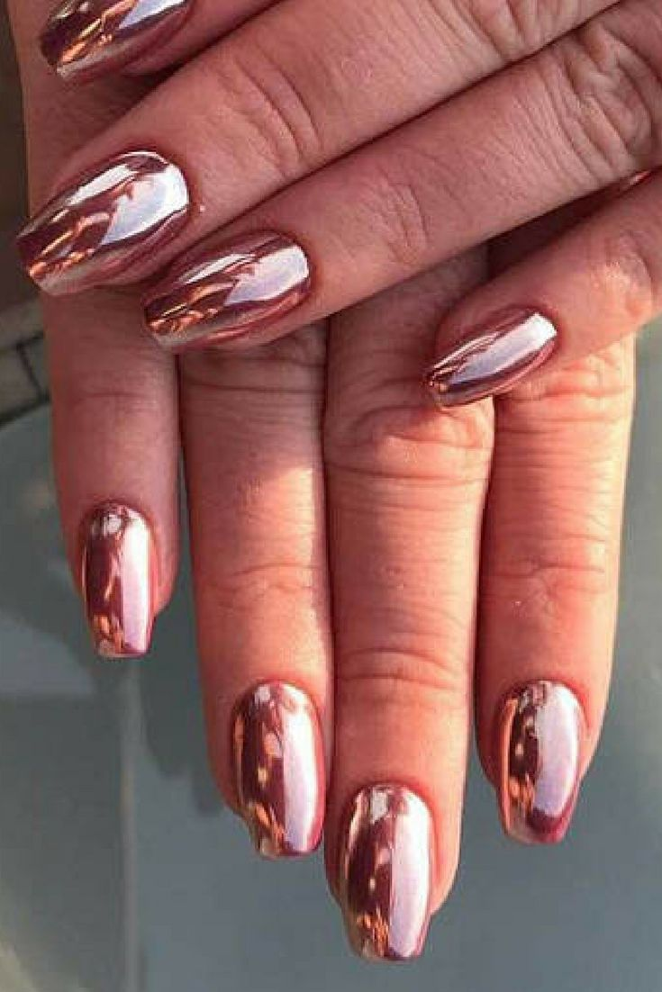 375 best chrome nail polish images on Pinterest | Beleza, Chrome ...