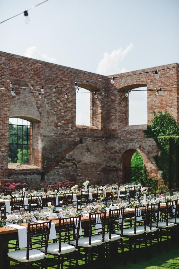Dreamy Outdoor Wedding at RiverMill Event Centre