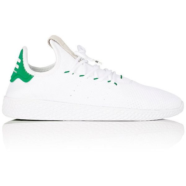 adidas Men's Men's Tennis Hu Primeknit Sneakers ($130) ❤ liked on Polyvore featuring men's fashion, men's shoes, men's sneakers, mens tennis sneakers, mens shoes, mens lace up shoes, mens sneakers and mens tennis shoes