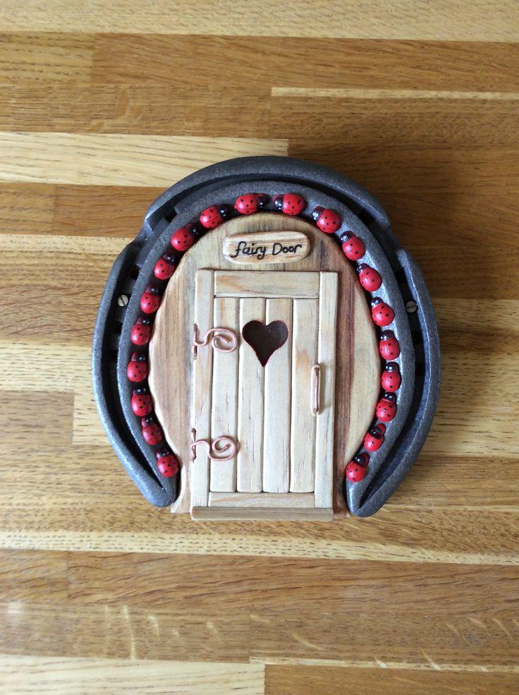Horseshoe Fairy Door (2)