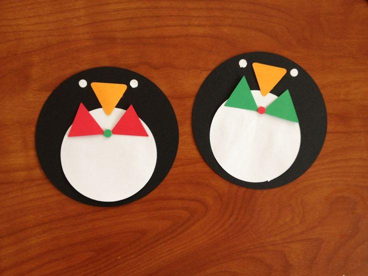 Cute penguin door decs!