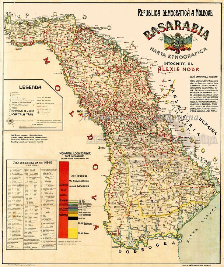 Basarabia - localităţi