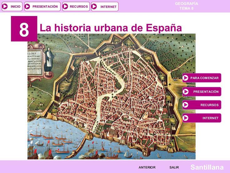 Tema 9: LA HISTORIA URBANA DE ESPAÑA by tonicontreras via slideshare