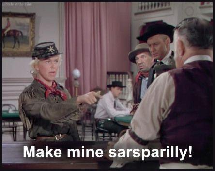 7/13/15 12:36a Warner Bros Pictures ''Calamity Jane'' Doris Day Howard Keel ''Hard Drink'' 1953 theblondeatthefilm.com
