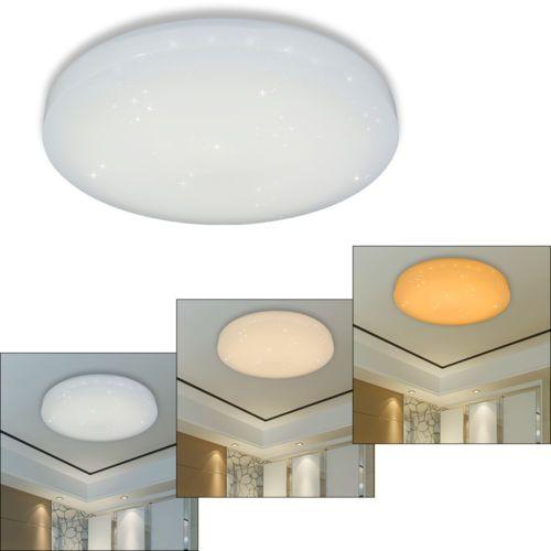 Perfect Amazing Farbwechsel LED Deckenleuchte Badlampe K Che Wohnzimmer Flurleuchte  Images Awesome Ideas