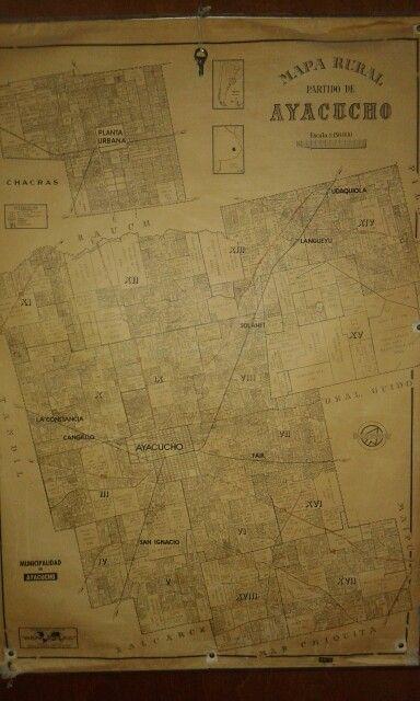 Mapa de estancias