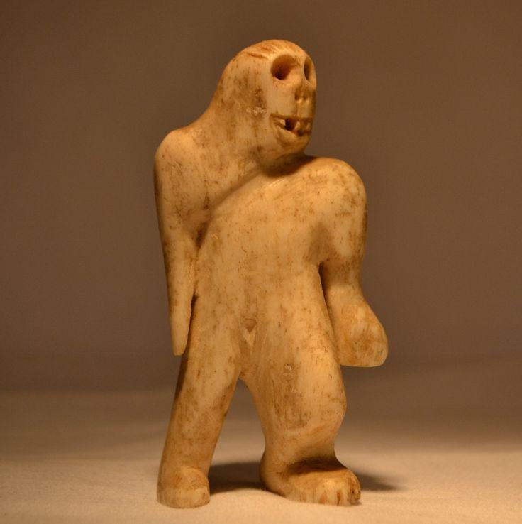 Inuit Shaman Sasquatch - Canadian Museum inquiries only