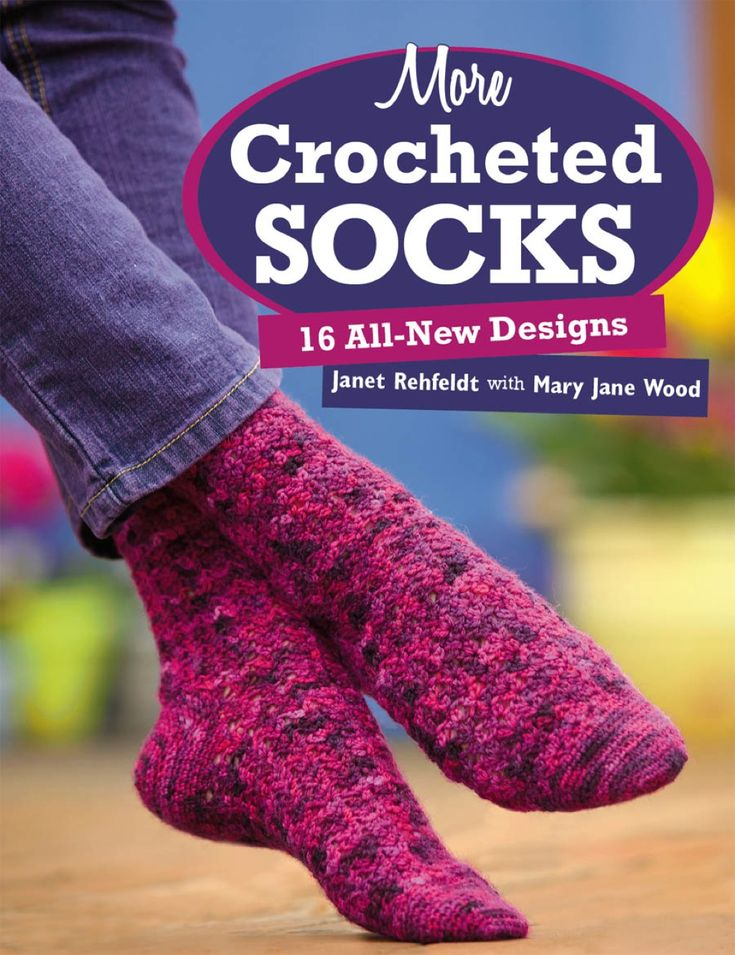 More Crocheted Socks (eBook)