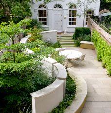 Garden Design Long Narrow 8 best garden ideas images on pinterest | small gardens