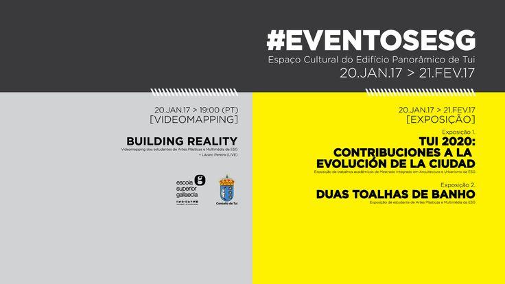 \\ VIDEOMAPPING E EXPOSIÇÃO \\ ESTUDANTES DA ESG https://www.facebook.com/events/207375522999965/ www.esg.pt  #eventosesg #miauesg #apmesg #esgallaecia #esgpt