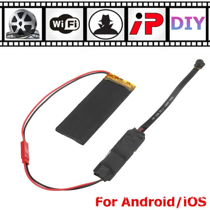 DIY Module Wifi Wireless Hidden Network Security HD IP Camera for Android iOS