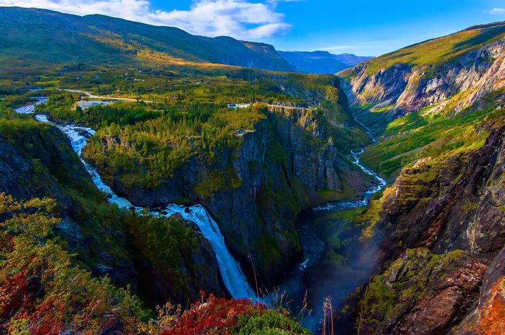 The Beautiful Vøringfossen Norway by Aziz Nasuti on 500px