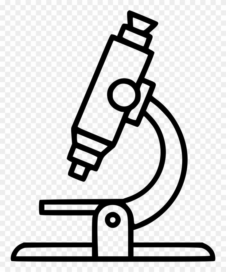 Download Hd Microscope Clipart Clear Black And White Microscope Clipart Png Download And Use The Free Clipart Fo Clip Art Microscope Transparent Background